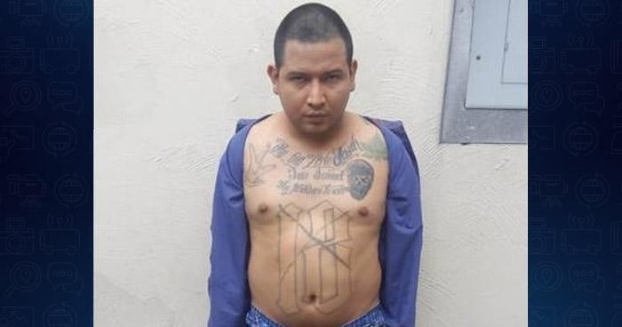 """Capturan pandillero """"criteriado"""" que escapó de su custodia en un hospital en Colonia Escalón"""