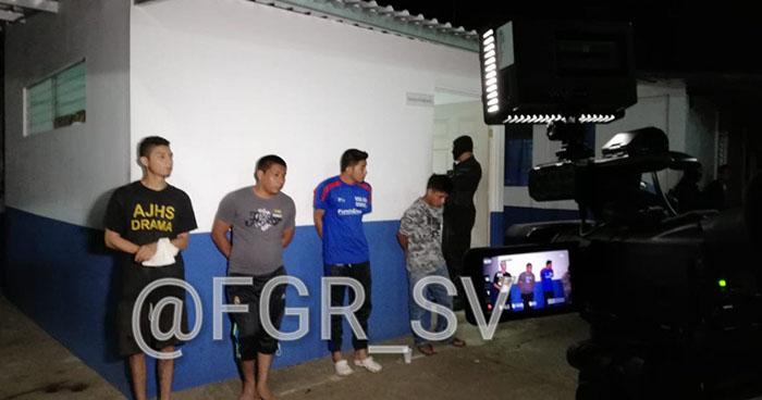 Operativo deja la captura de 30 pandilleros que operaban en el occidente del país