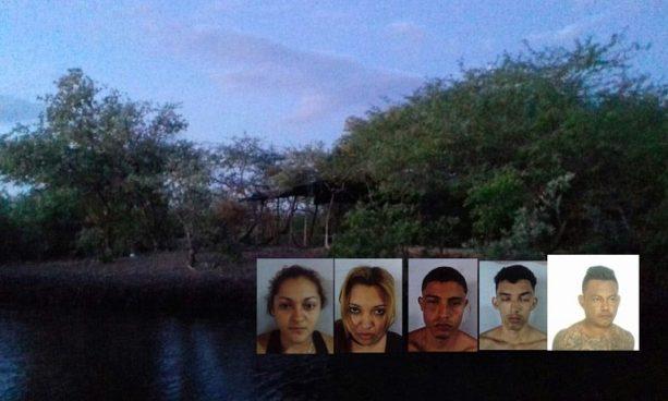 Marea alta impide el escape de pandilleros que se escondían en un manglar de La Unión