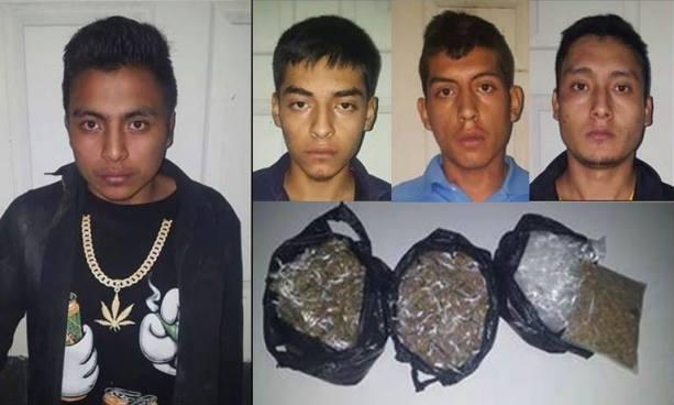 Capturan durante operativo en Libertad a cabecilla de pandillas junto a cuatro de sus secuaces