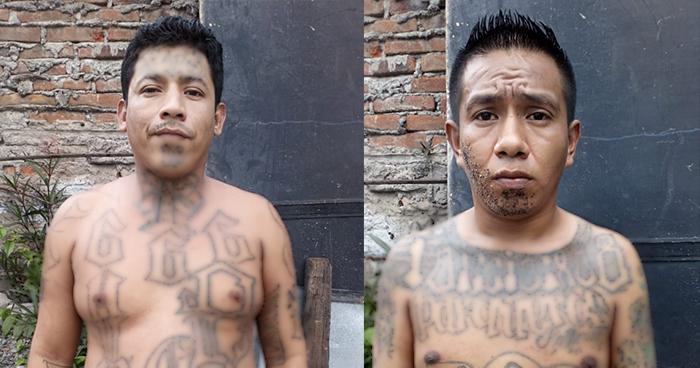 """Capturan a dos peligrosos """"Gatilleros"""" en las cercanías del mercado Belloso de San Salvador"""