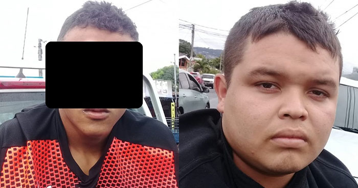 Arrestan en San Salvador a pandilleros que intentaron huir armados y con dinero ilícito