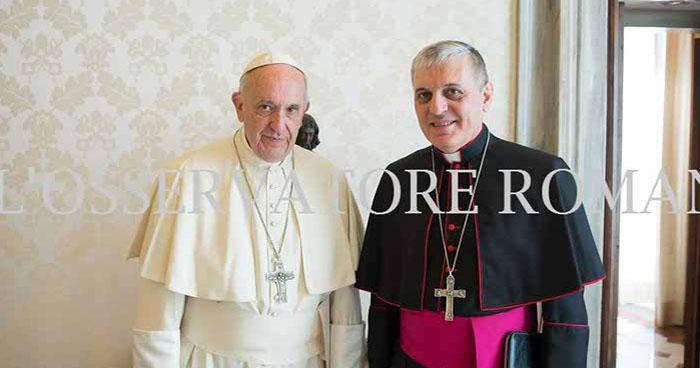 Papa Francisco nombra nuevo embajador del Vaticano en El Salvador