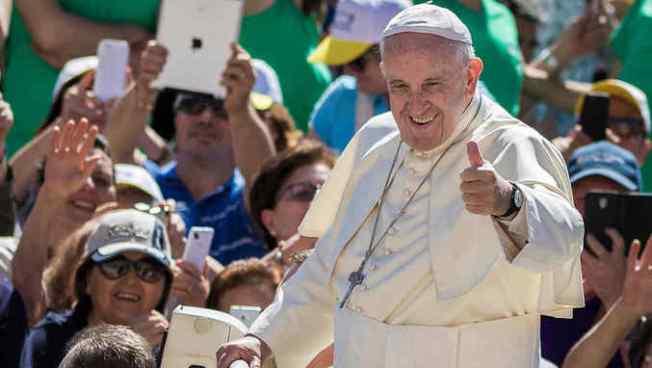 VÍDEO | Papa Francisco citó una canción de Juanes durante una misa en Colombia