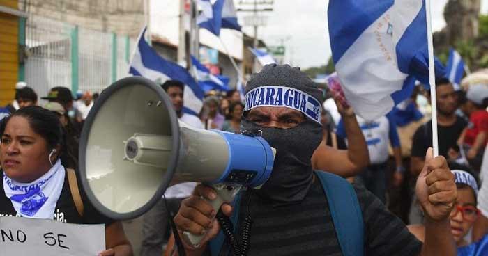 Oposición nicaragüense convoca nuevo paro nacional de 24 horas