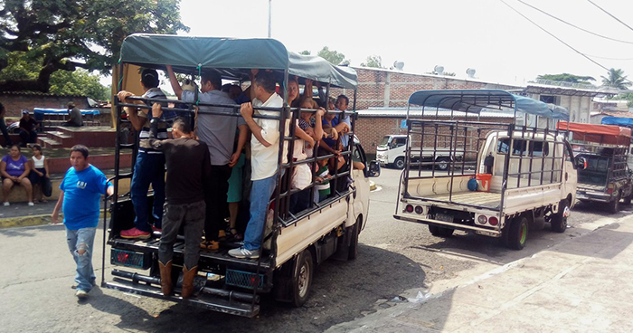Empleados de la ruta 108 paralizan labores por amenazas de pandillas