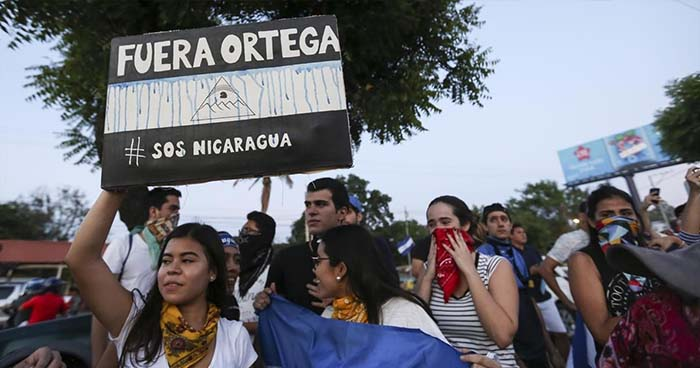 Nicaragua: Convocan paro nacional en protesta al gobierno de Daniel Ortega