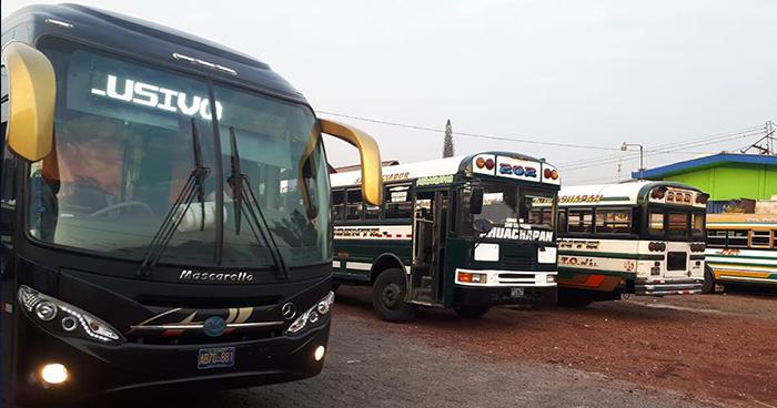 Ruta de autobuses 202 en paro de labores por amenazas de pandillas