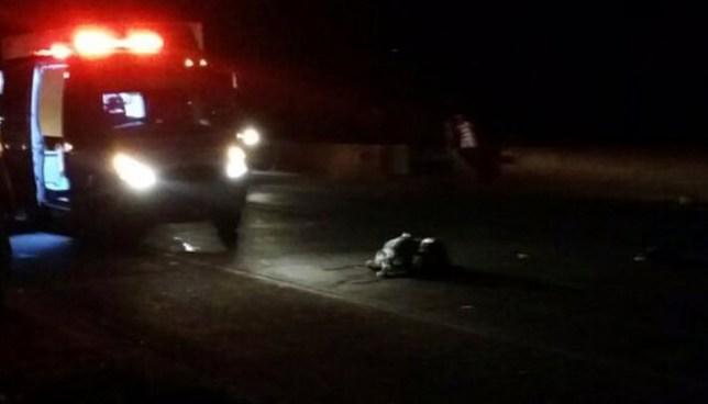 Anciano pierda la vida luego de ser arrollada en la carretera a Quezaltepeque