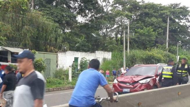 Persona muere luego de ser atropellada en el municipio de El Congo