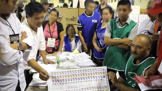 TSE busca que pandilleros no puedan participar en la contabilización de votos
