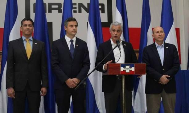 Precandidatos presidenciales de ARENA viajaran a EE.UU para abogar por el TPS