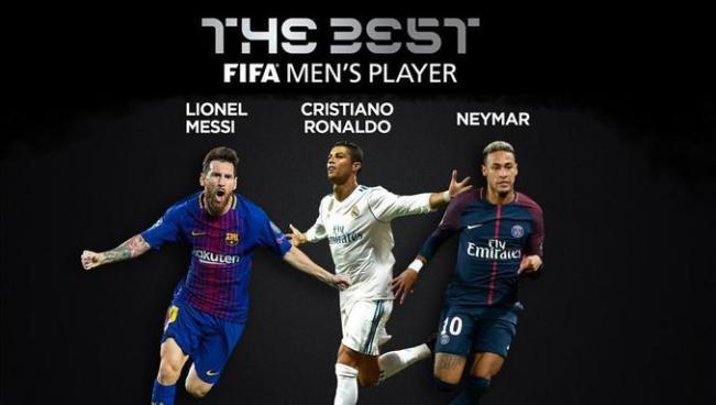 FIFA confirma a los tres candidatos a ganar el premio The Best