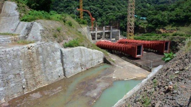Obras de presa El Chaparral llevan un 60% de avances