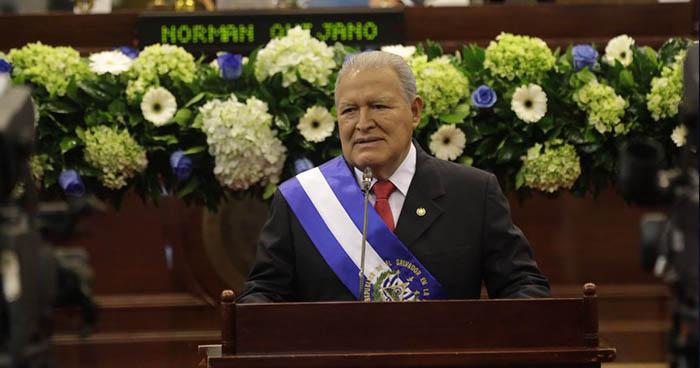 Presidente Sánchez Cerén brinda informe de sus cuatro años de gestión