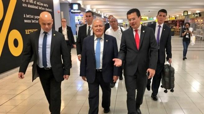 Presidente arribó a Nueva York para presentar su discurso ante la ONU