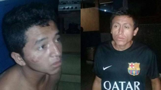 Capturan a dos hombres por el delito de privación de libertad en Comasagua, La Libertad