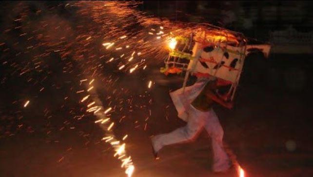 Seis personas lesionadas por quema de pólvora en Mejicanos