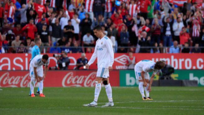 Real Madrid pierde contra el recién ascendido Girona y se aleja a 8 puntos del Barça
