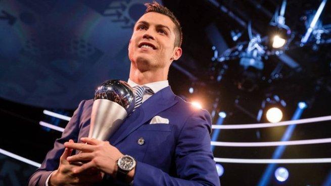Cristiano Ronaldo gana el premio The Best por segundo año consecutivo