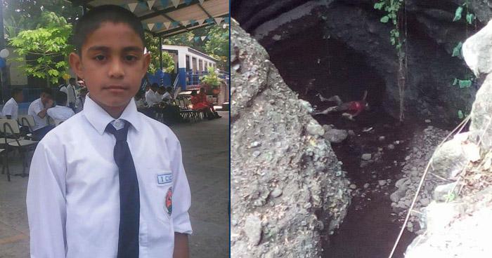 Niño de 10 años encontrado muerto en río de Santiago Nonualco se habría suicidado, según PNC