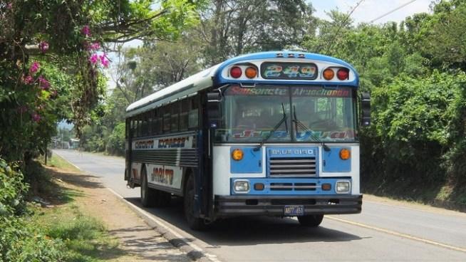 Ruta de buses 249 tiene prohibido el ingreso a Apaneca
