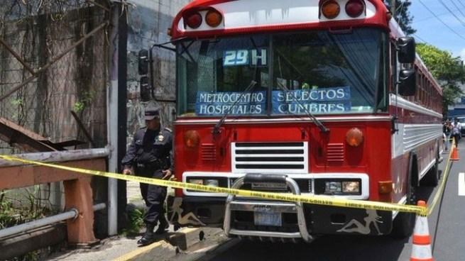 Asesinan a motorista de la Ruta 29 H en Ilopango