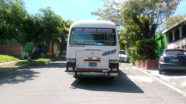 Ruta 41-B recorta su recorrido por amenazas de pandillas
