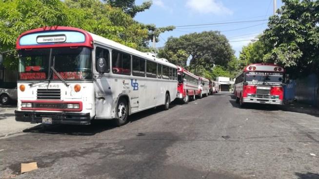 Ruta 7C en paro de labores por amenazas de pandillas