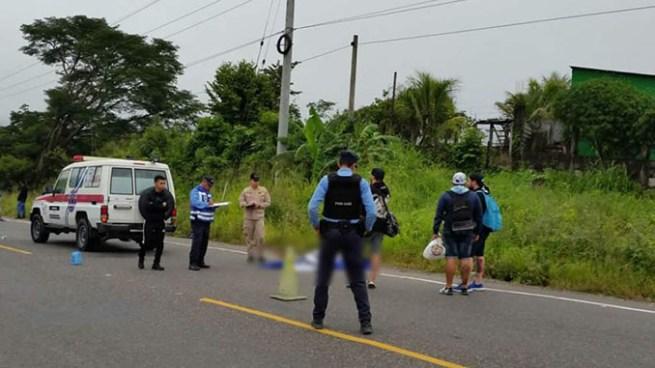 Salvadoreño aficionado del Alianza muere al caer de autobús en Copán, Honduras