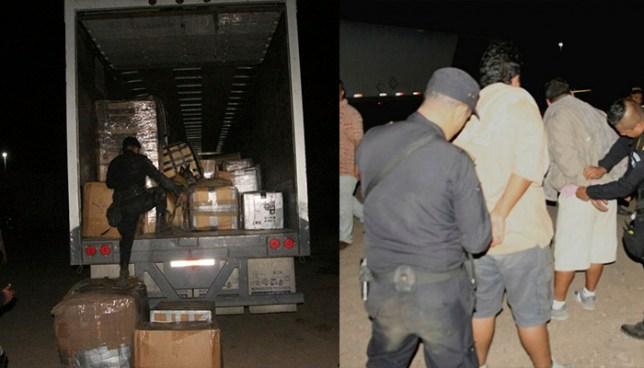 Capturan en Guatemala a salvadoreños que transportaban encomiendas con documentos falsos
