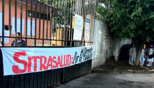 Sindicalistas reducen labores en el hospital psiquiátrico de Soyapango