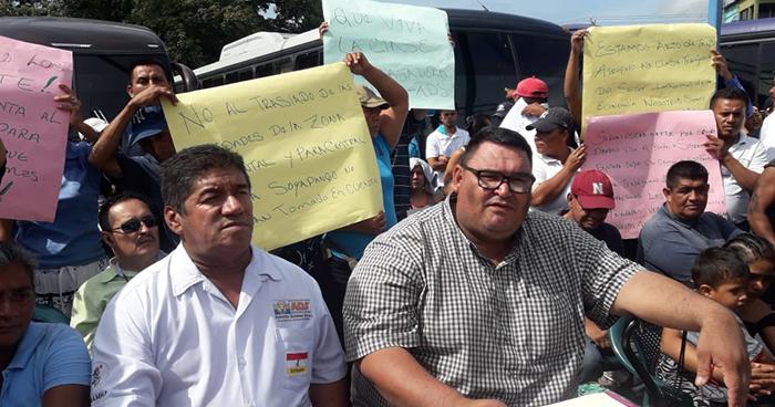 Sindicato de vendedores en desacuerdo por el traslado de la Terminal de Oriente a Soyapango
