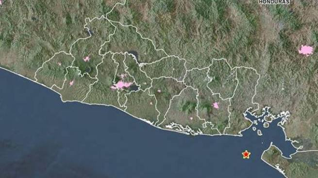 Sismo de 5.1 grados sacude la zona oriental de El Salvador