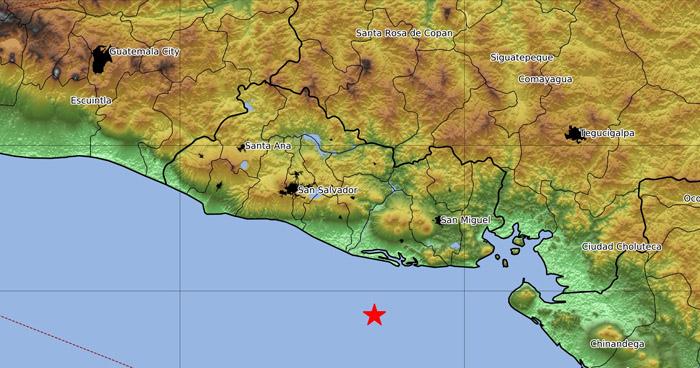 Sismo de 4.1 sacudió esta mañana parte del oriente del país