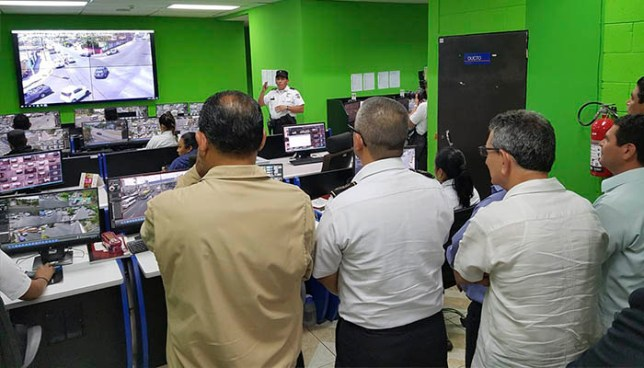 Inauguran sistema de videovigilancia que abarcará a 5 municipios del Área Metropolitana de San Salvador