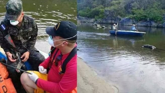 Localizan el cadáver del soldado salvadoreño ahogado en el río Lempa