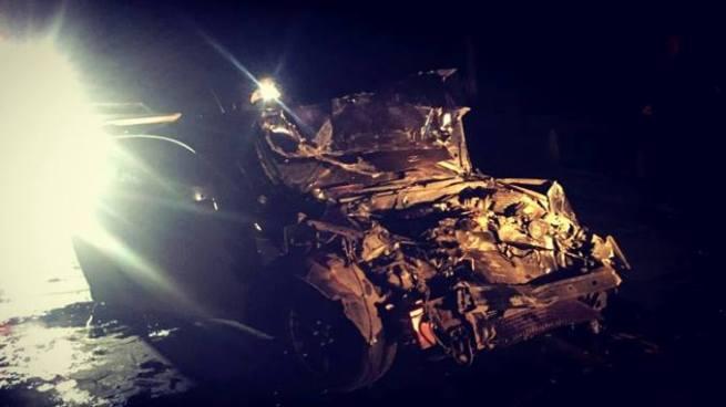 Conductor en estado de ebriedad impacta contra patrulla dejando 2 soldados lesionados