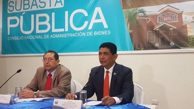 CONAB anuncia primera subasta pública de bienes incautados