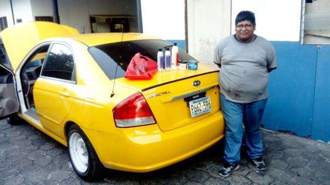 Detienen en San Salvador a sujeto implicado en asalto de un camión con mercadería