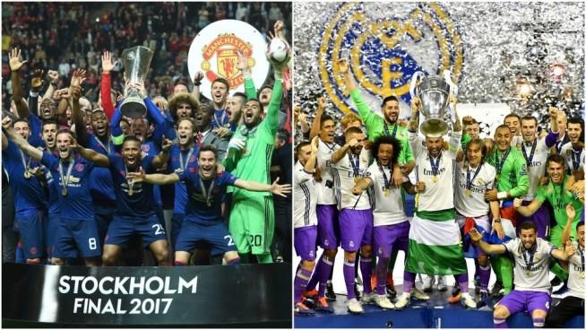 PREVÍA | Final entre Manchester United y Real Madrid por la Supercopa de Europa