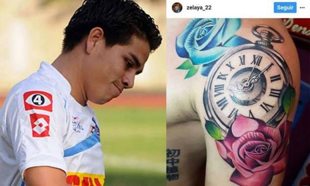Fito Zelaya es objeto de burla luego de realizarse un tatuaje con un grave error