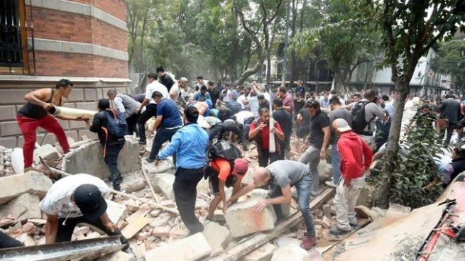 Al menos 149 muertos tras un nuevo terremoto de 7.1 en México
