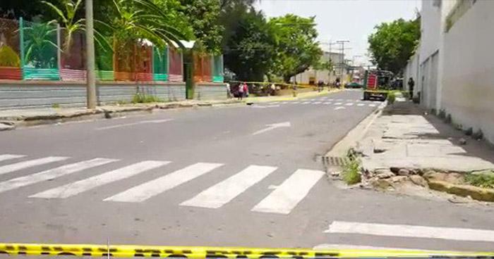 Tiroteo en las cercanías de la catedral de Zacatecoluca  deja dos heridos