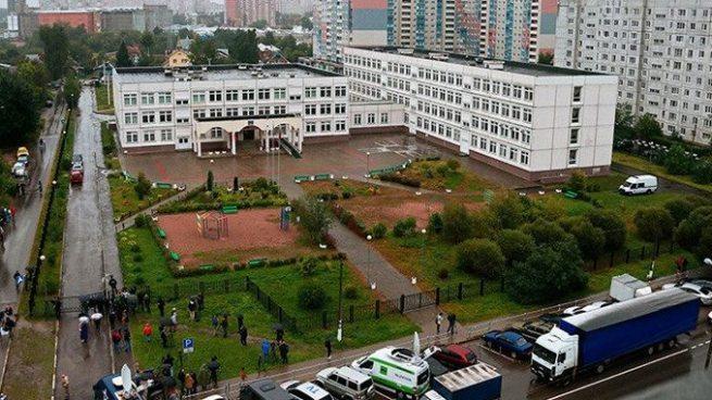 Cuatro lesionados tras ataque armado propiciado por un alumno en escuela de Moscú