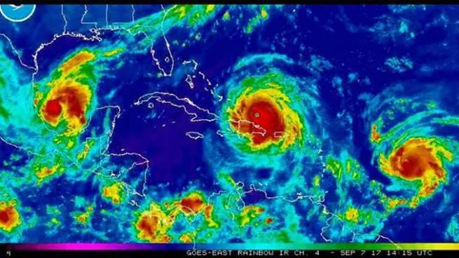 Los huracanes Irma, José y Katia se fortalecen y alertan de posible catástrofe en El Caribe