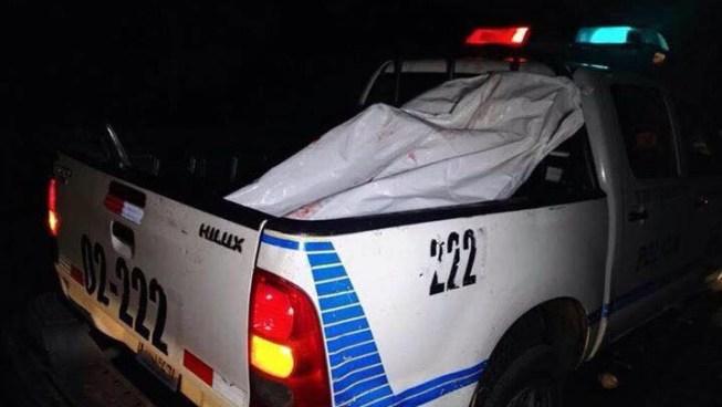 Asesinan a machetazos a vendedor de frutas en carretera de Santa Ana a San Salvador