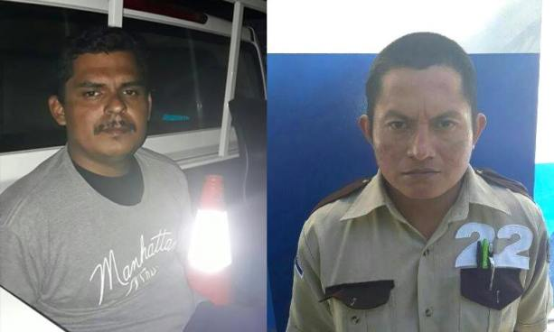 Capturan en San Salvador a vigilantes acusados por los delitos de amenaza y acoso sexual