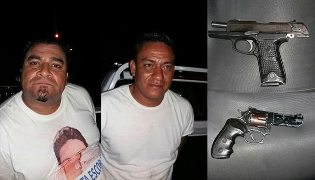 Capturan en San Salvador a vigilantes que prestaban sus servicios en estado de ebriedad