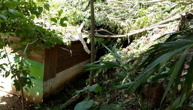 Lluvias dañan al menos diez viviendas en el municipio de Guadalupe, San Vicente